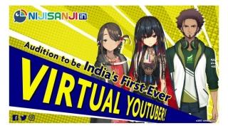 いちから、インドへ本格進出!インドVTuberグループ「NIJISANJI in」始動