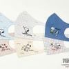 【日本製】10月2日新発売、大好評『西川の100回洗えるマスク』に「PEANUTS」デザイン