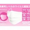 ギャレリアインターナショナル、不織布マスク(使い捨て)小さい目女性用・子供用サイズ