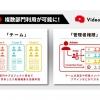 オープンエイト、「Video BRAIN」部門やプロジェクト単位で活用できる「チーム」及び「管理者権限」を追加