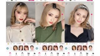 YouCam アプリ「韓国アイドル風」スペシャルメイクコレクション🎤