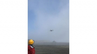【ドローン活用による減災への取り組み】火山活動の推移を適切に把握するために活火山の火口周辺調査を実施