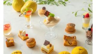 横浜ベイシェラトン ホテル&タワーズ、「Sweets Parade ~洋梨&柚子~」11月4日(木)から12月10日(金)まで開催